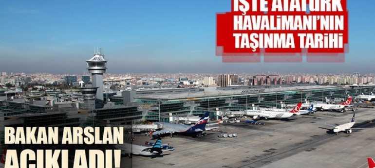 Atatürk Hava limanı Taşınıyor mu?